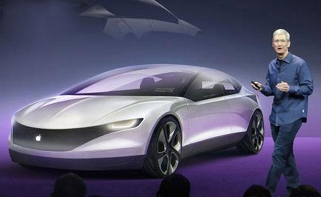 Apple Hires Ex BMW Exec Kranz For Its Electric Car Project - Sakshi