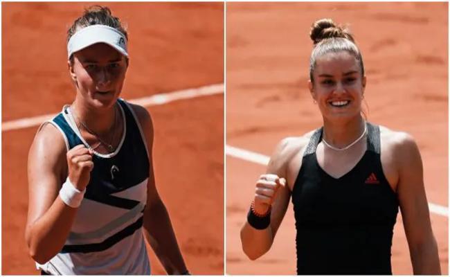 Krejcikova to face Pavlyuchenkova in final in French Open - Sakshi