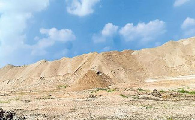 Massive fraud in the name of sub-leases of sand reach - Sakshi
