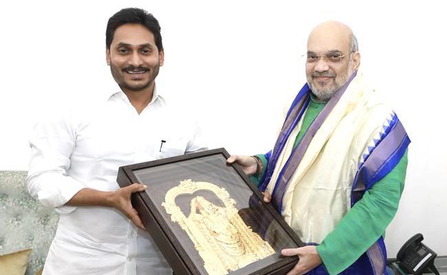 CM YS Jagan Meeting With Amit Shah At Delhi - Sakshi