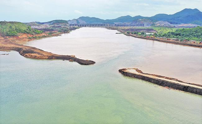 AP Govt completed another key milestone in ambitious Polavaram works - Sakshi