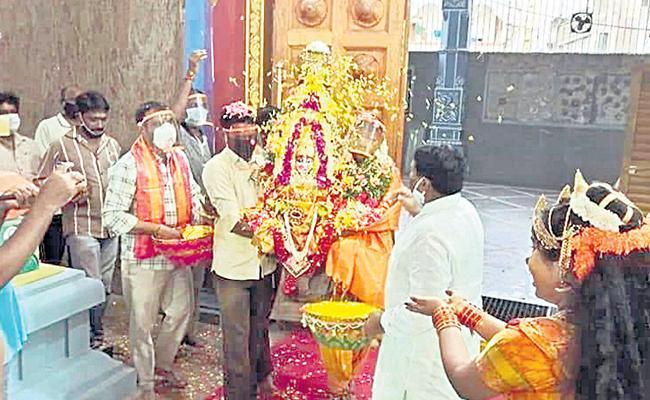 Telangana Bonalu Festival To Be Started In July - Sakshi