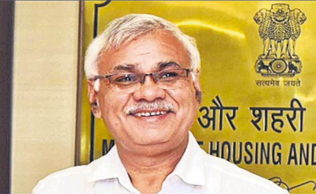 Union Urban Housing Secretary Durga Shankar praised YSR Jagananna Colonies - Sakshi