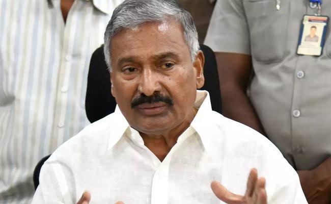 Minister Peddireddy Said Special Focus On Jagananna Pacha Thoranam - Sakshi