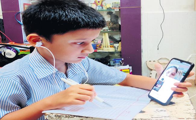 Online teaching to students from today - Sakshi