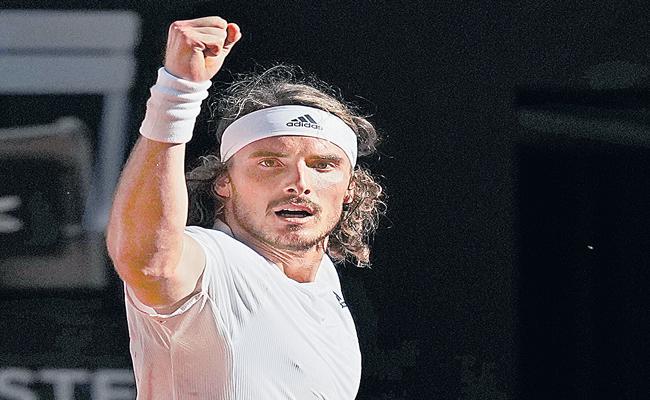 Stefanos Tsitsipas becomes first Greek to reach Grand Slam final  - Sakshi