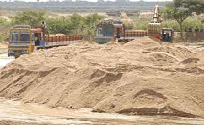 Fraudster Arrested In the lease of the Sand Reaches - Sakshi