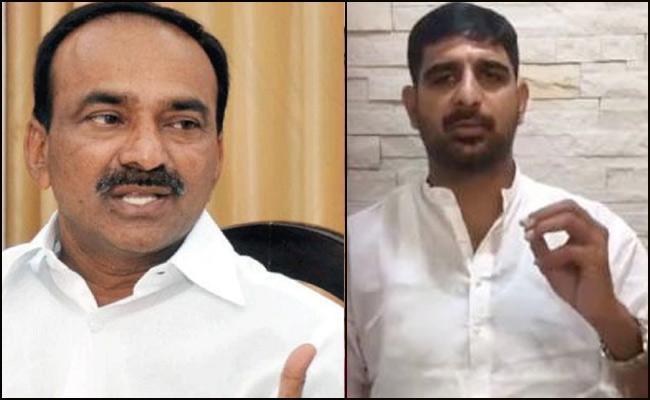 Congress Leader Koushik Reddy Comments On Etela Rajender - Sakshi