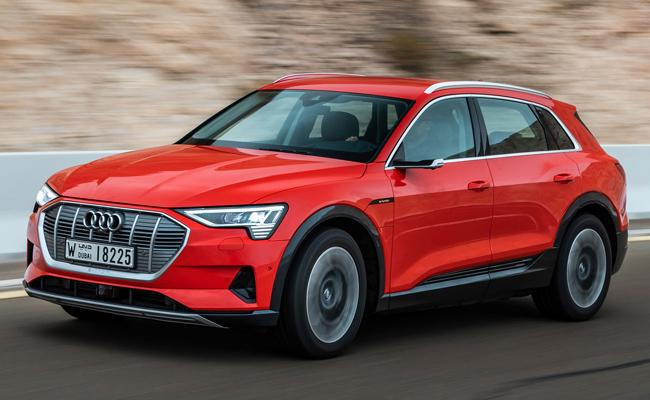 Audi E-ron Eectric SUV Arrives At Showrooms  - Sakshi