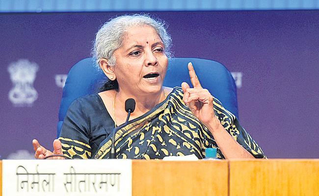 FM Sitharaman says no GST on black fungus drugs - Sakshi