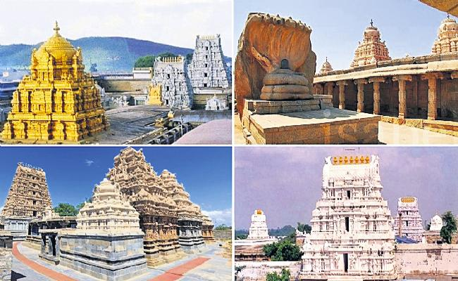 Government exercise for construction of temples across Andhra Pradesh - Sakshi