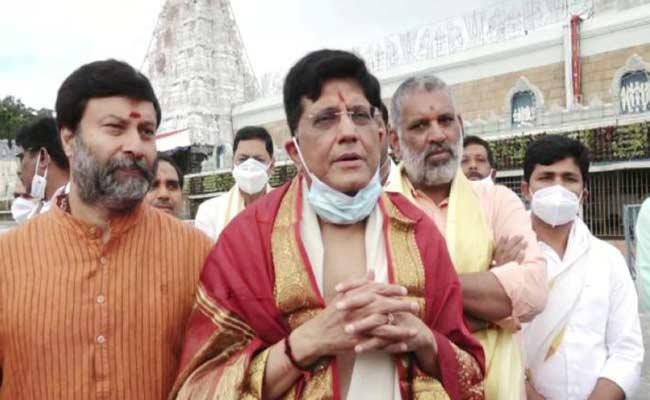 Celebrities Visit Tirumala Temple - Sakshi