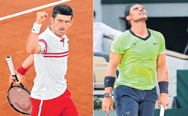 Novak Djokovic beats Rafael Nadal in thriller to reach French Open final - Sakshi