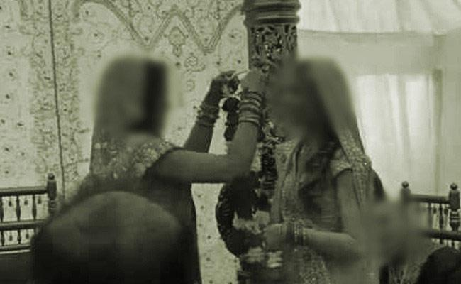 Two Girls Elope and Marry Each Other at a Temple in Gurugram - Sakshi