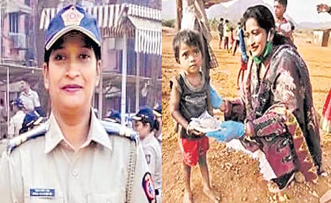 police onstable Rehana Shaikh aka Mother Teresa who helped patients get beds - Sakshi