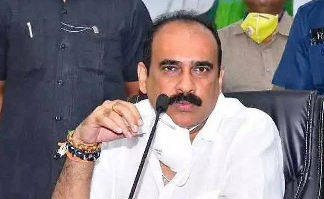 AP Minister Balineni Srinivasa Reddy Comments Over Electrical Department - Sakshi