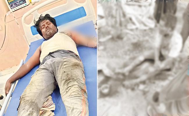Electrocution While Laying Slab On House At Dharur Vikarabad - Sakshi