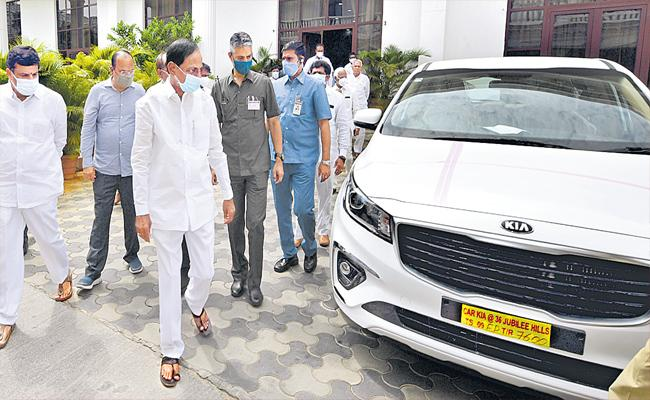 CM KCR Review Meeting with District Collectors And Municipal Officials - Sakshi
