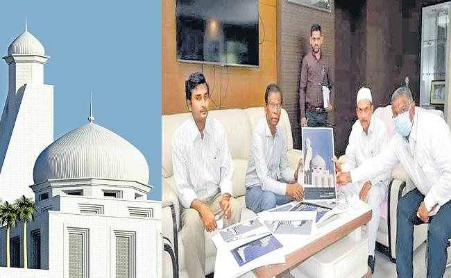 Telangana New Secretariat Premises Mosque May Designed By In Turkish Style - Sakshi