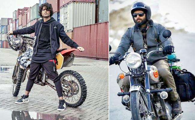 These Are The Crazy Bikes Used By Rowdy Star Vijay Deverakonda In His Movie - Sakshi