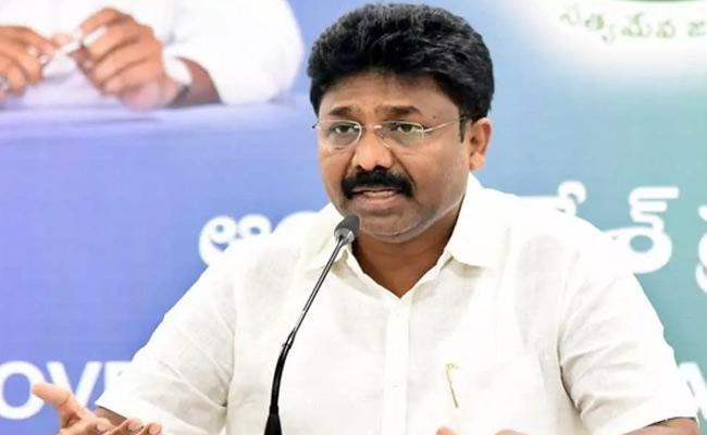 Minister Adimulapu Suresh Comments On Chandrababu - Sakshi