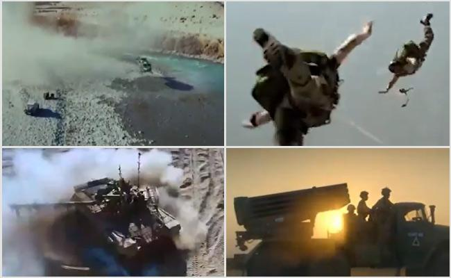 Indian Army Released A Video Song On Galwan War Where Colonel Santosh Kumar Fought Ferociously Against Chinese Army - Sakshi