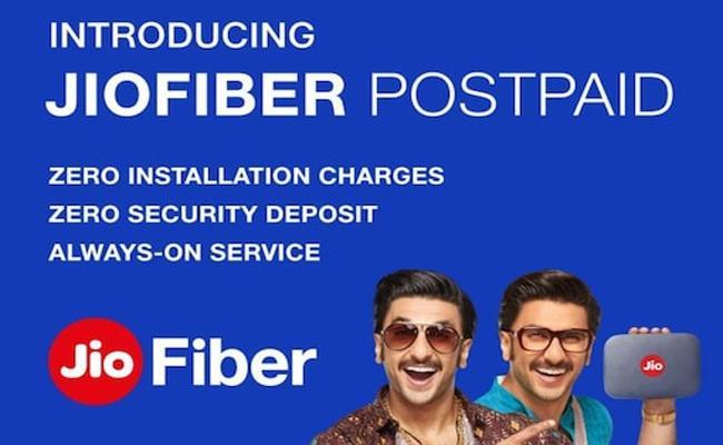 JioFiber Postpaid Launched - Sakshi