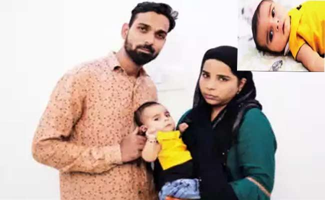 Family Efforts Crowd Funding Rs16 Crore Ends Abrubtly Losing Their Baby - Sakshi