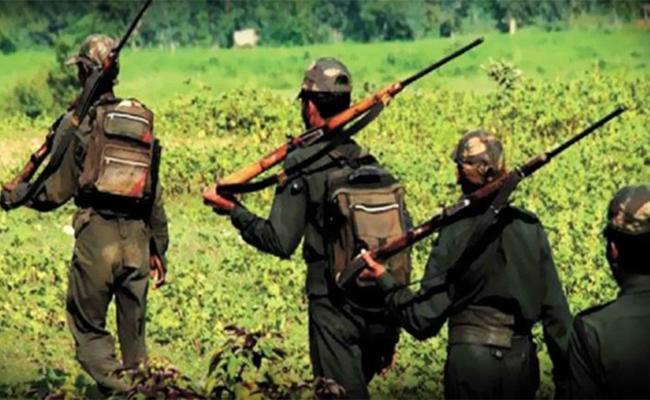 6 Maoists Gunned Down By Security Forces In Andhra Pradesh - Sakshi