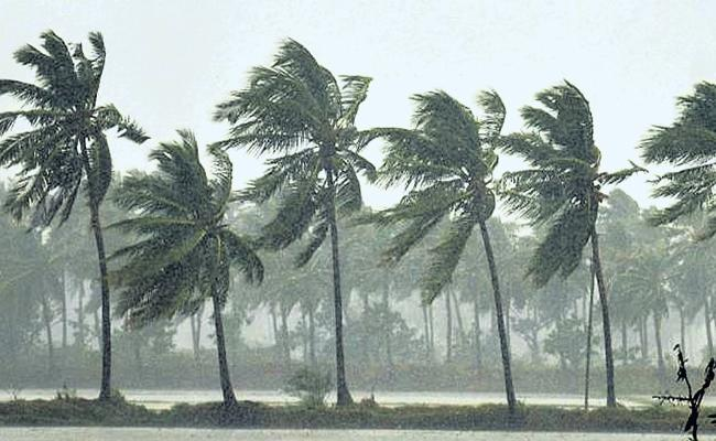 There was a chance of rains across Andhra Pradesh - Sakshi
