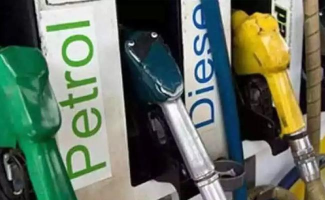 Diesel Price Hiked More Than Petrol In Past 44 Days Already Diesel Price Touched Hundred In Rajasthan - Sakshi