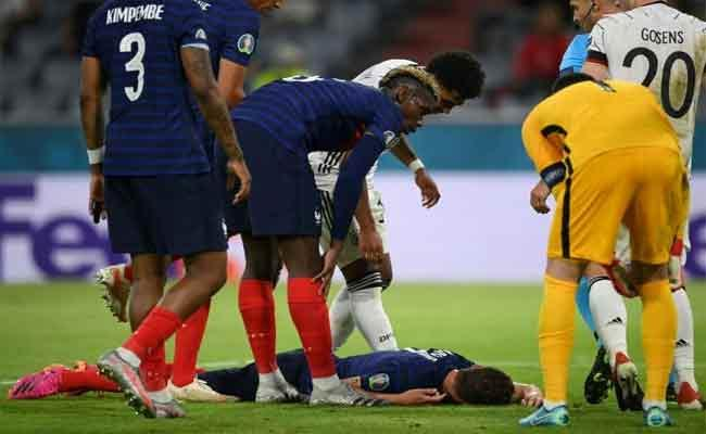 EURO 2020: France Defender Benjamin Pavard Lost Consciousness In Win Over Germany - Sakshi
