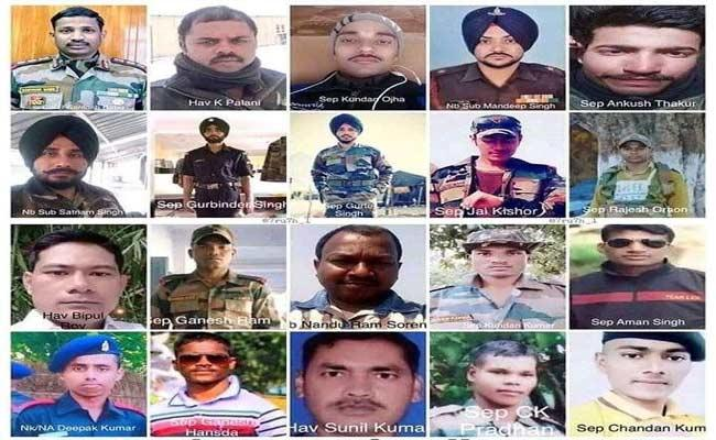 A Big Salute To Our Martyrs In Galwan - Sakshi