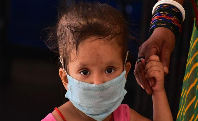Union  Health Ministry Rejected Claim Children Most Affected In 2nd Wave - Sakshi