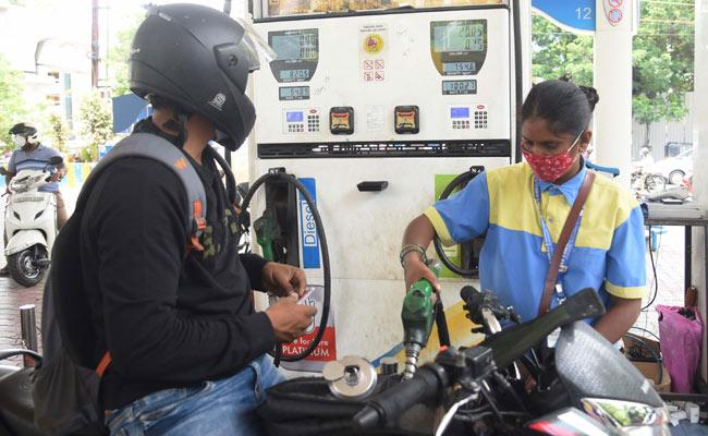 Petrol And Diesel Price Hike India  - Sakshi
