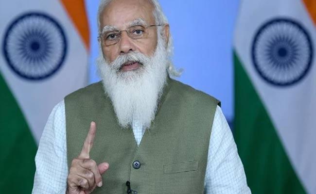 Pm Modi VivaTech Said India Adaptable Agile Even Amid Covid 19 Pandemic - Sakshi
