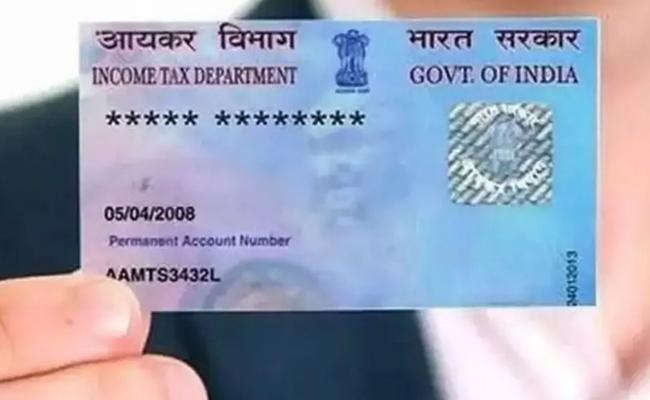 How To Apply For E PAN Card Online With Aadhaar Card - Sakshi