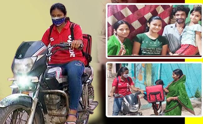 Sakshi Family Story On Zomato Girl BishnuPriya