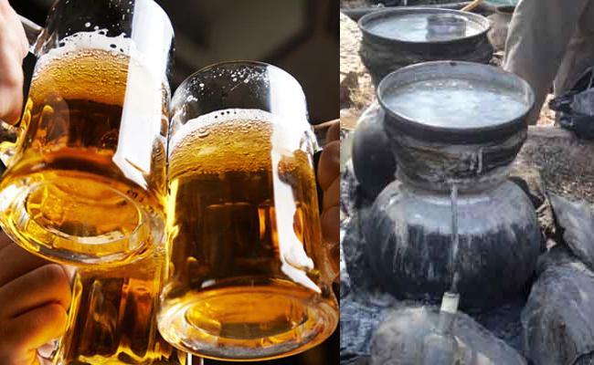 Liquor Sales In Code Language In Srikakulam - Sakshi