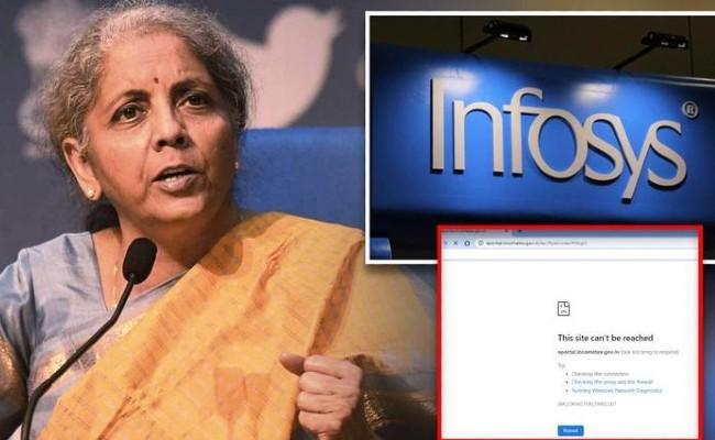Nirmala Sitharaman To Meet Infosys Representatives on June 22 - Sakshi