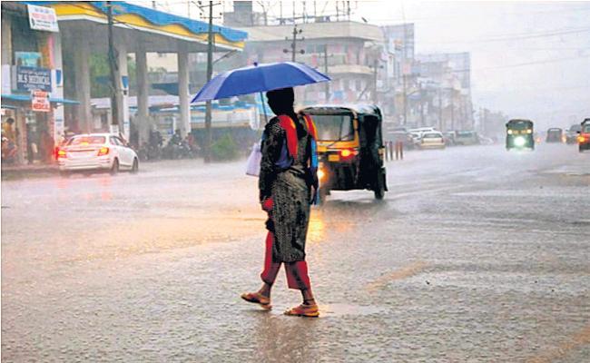 Two days moderate rains in Andhra Pradesh - Sakshi