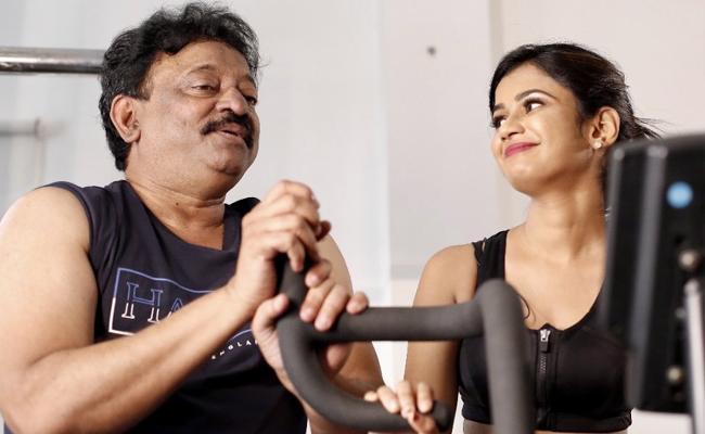 Ram Gopal Varma Tweet About Interview Teaser Release With Ariyana Glory - Sakshi