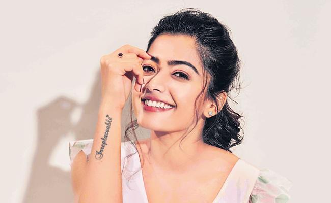 Rashmika Mandanna New Post On Twitter - Sakshi