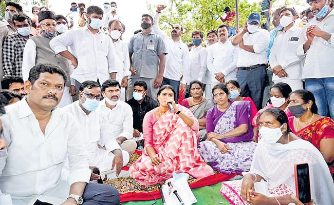 Endless Fight On Unemployment Says YS Sharmila - Sakshi