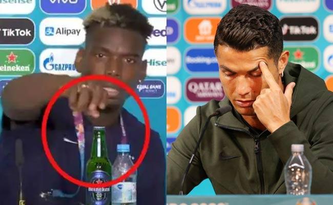 Ronaldo Coca Cola Bottle Issue UEFA Warn Impose Fine Players - Sakshi
