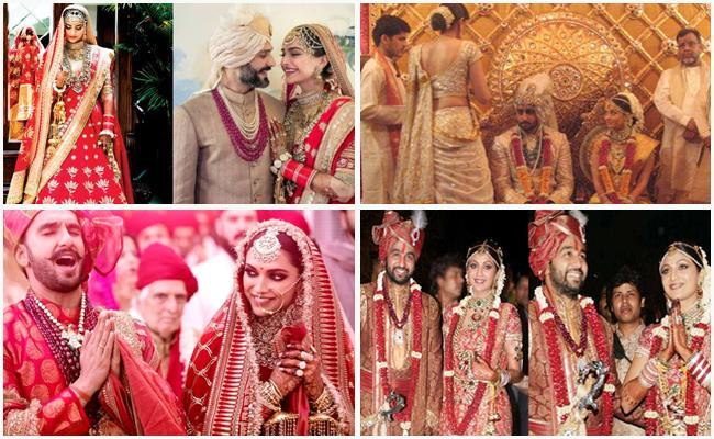Aishwarya Rai To Deepika Padukone Most Expensive Bridal Outfits - Sakshi