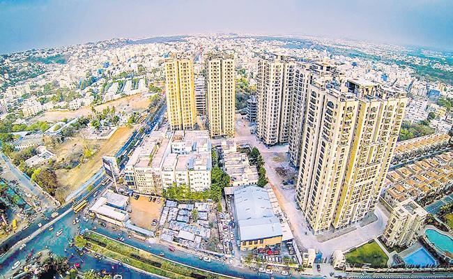 Suburbs Witnessing High Demand Due To Development Activities - Sakshi