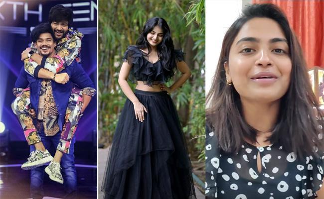 Social Halchal: Mehaboob, Hina Khan, Ananya Nagalla Photos - Sakshi