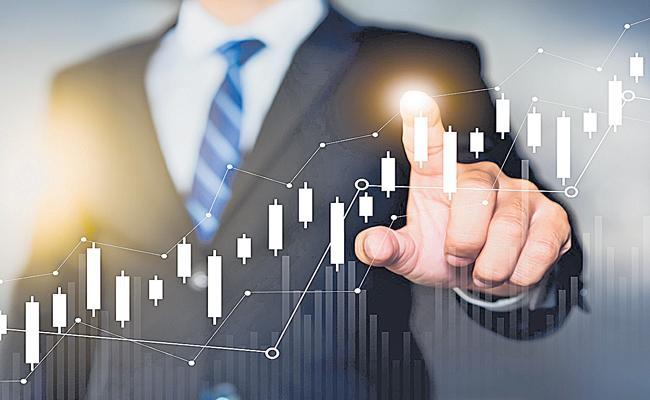 Sensex ekes out small gain, Nifty50 ends flat - Sakshi
