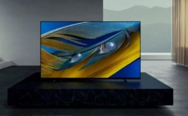Sony launches Rs 2.99 lakh 65-inch Bravia XR A80J OLED TV in India   - Sakshi